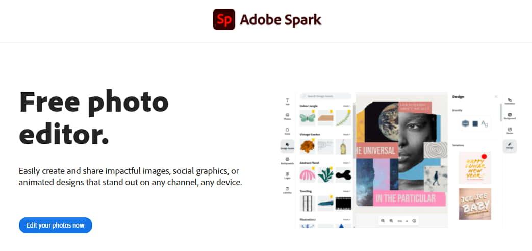 Adobe Editor Photo Online