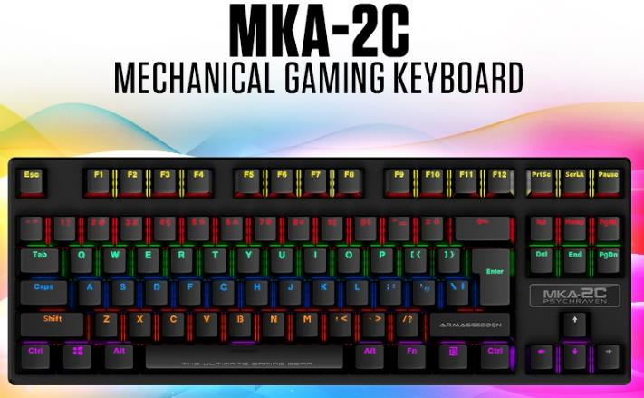 Armaggeddon Mechanical Gaming Keyboard MKA 2C
