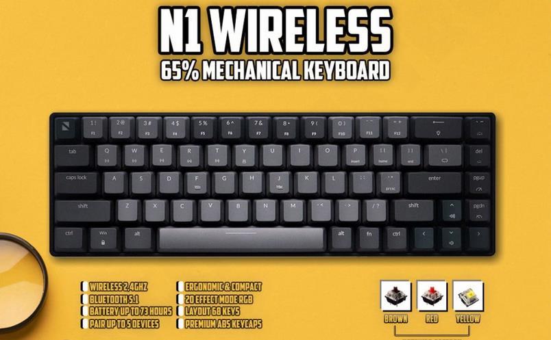 Noir N1 V2 Wireless Gaming